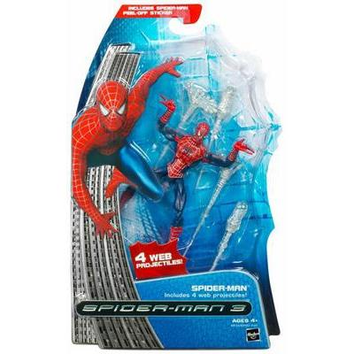 Spider-Man with 4 web projectiles (Spider-Man 3)