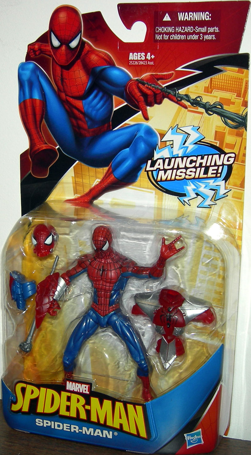 Spider-Man (launching missile)
