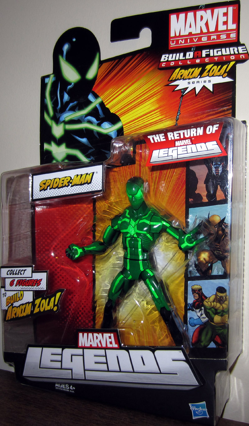 Spider-Man (Marvel Legends, Arnim Zola series)