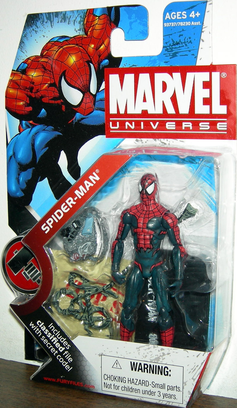 Spider-Man (Marvel Universe, series 2, 001)