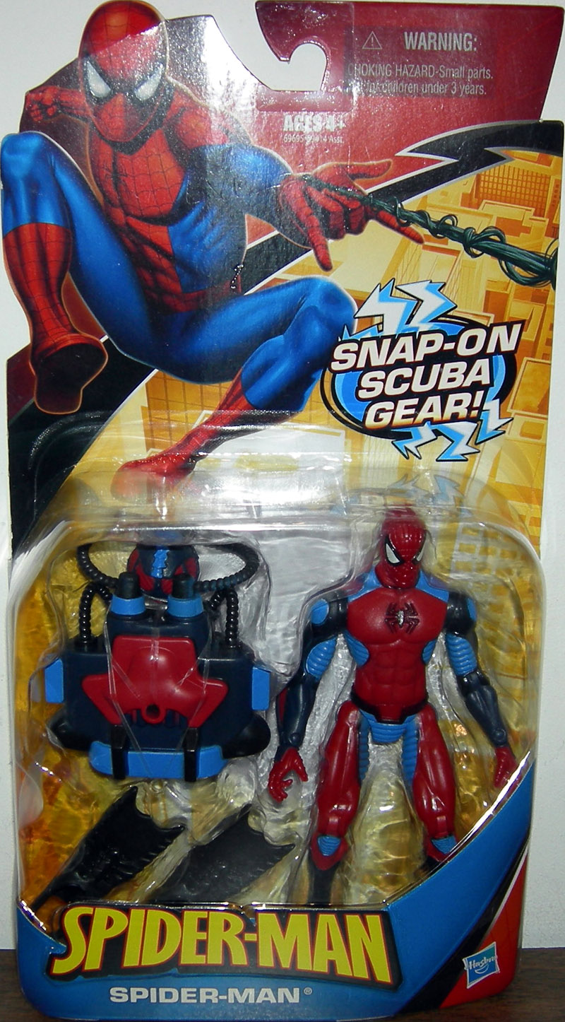 Spider-Man (with snap on scuba gear)