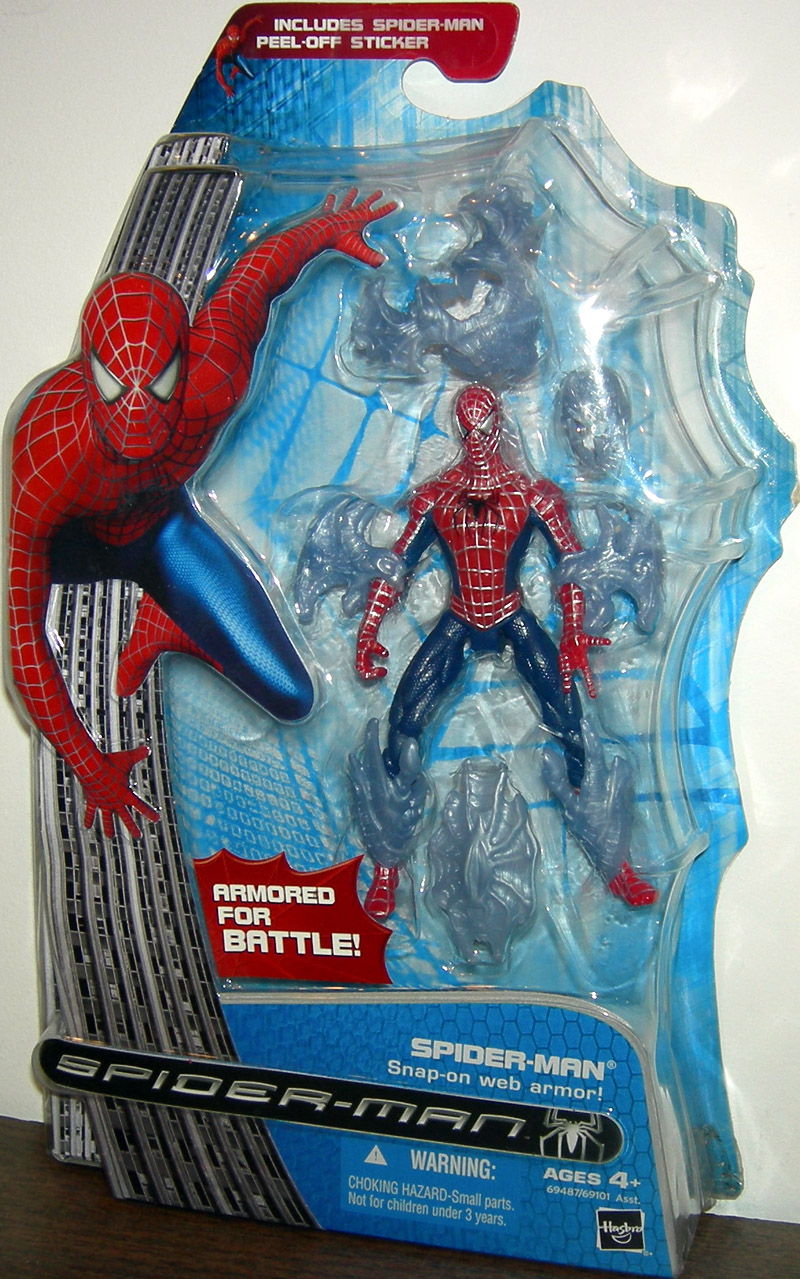 Spider-Man (Snap-On Web Armor)