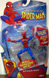 Spider-Man with Wall Hanging Web (Spectacular Animated Series)
