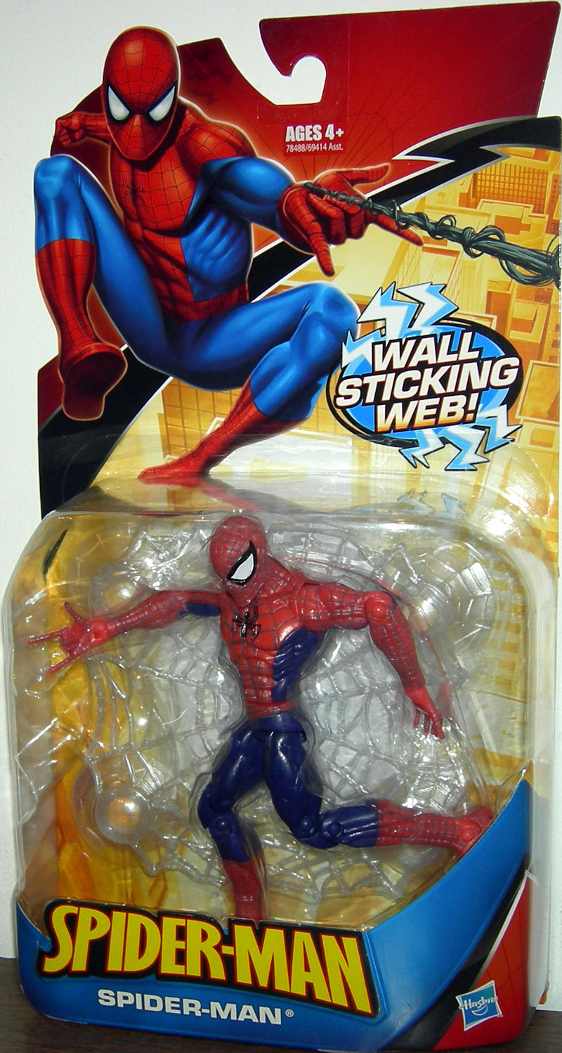 Spider-Man (wall sticking web)