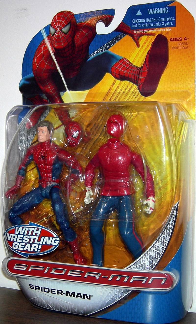 Spider-Man with wrestling gear (Trilogy)