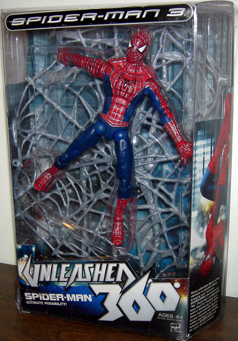 Spider Man 3 Unleashed 360 Figure 8 Inch Hasbro