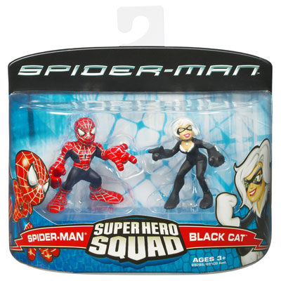 Spider-Man & Black Cat (Super Hero Squad)