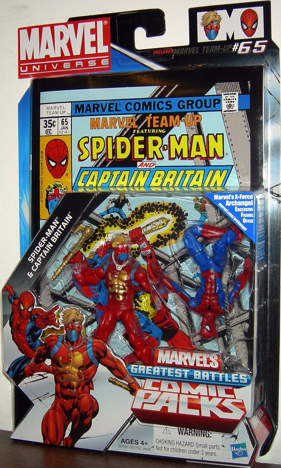 Spider-Man & Captain Britain (Comic Packs, #65)