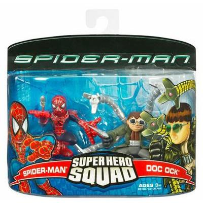 Spider-Man & Doc Ock (Super Hero Squad)