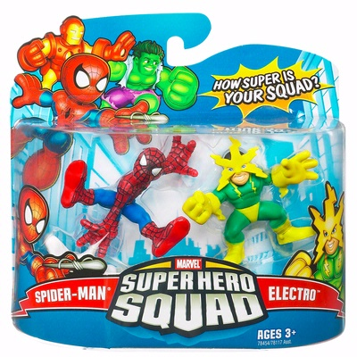 Spider-Man & Electro (Super Hero Squad)