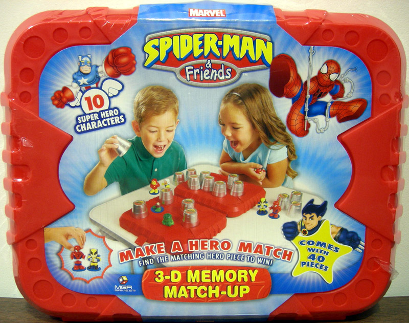 Spider-Man & Friends 3-D Memory Match-Up