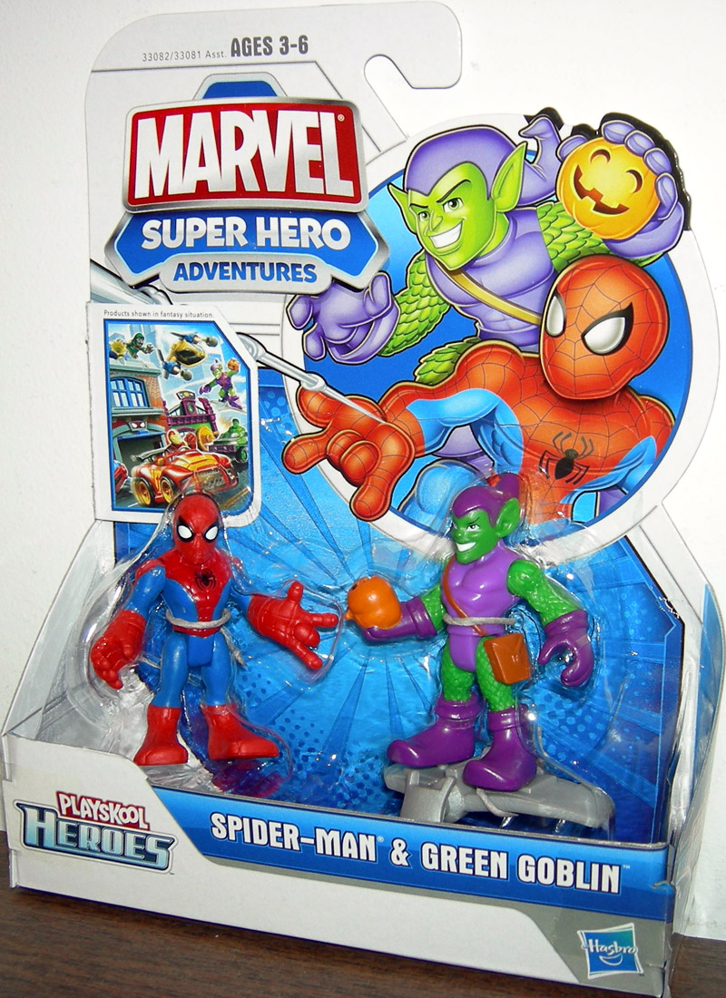 Spider-Man & Green Goblin (Playskool Heroes)