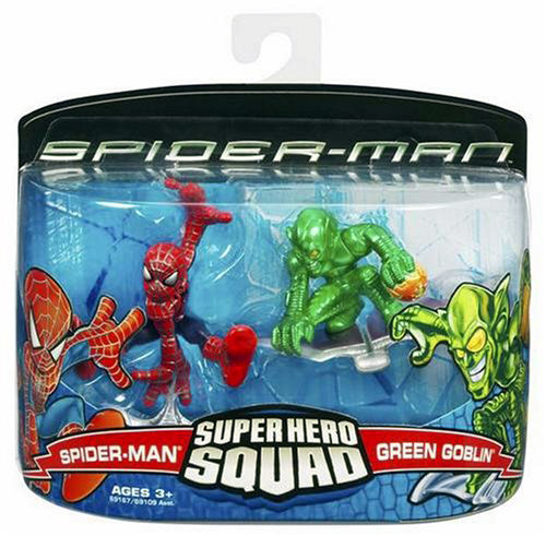 Spider-Man & Green Goblin (Super Hero Squad)