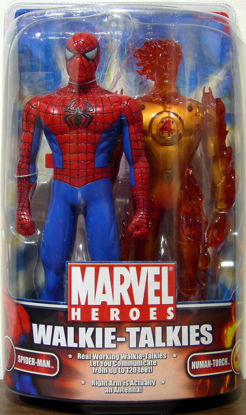 Spider-Man & Human Torch Walkie-Talkies