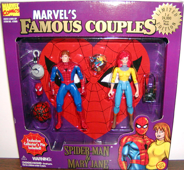 Spider-Man & Mary Jane 2-Pack (Famous Couples)