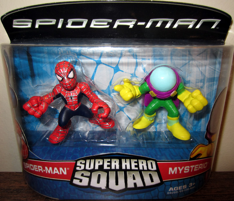 Spider-Man & Mysterio (Super Hero Squad)
