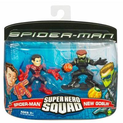 Spider-Man & New Goblin (Super Hero Squad)