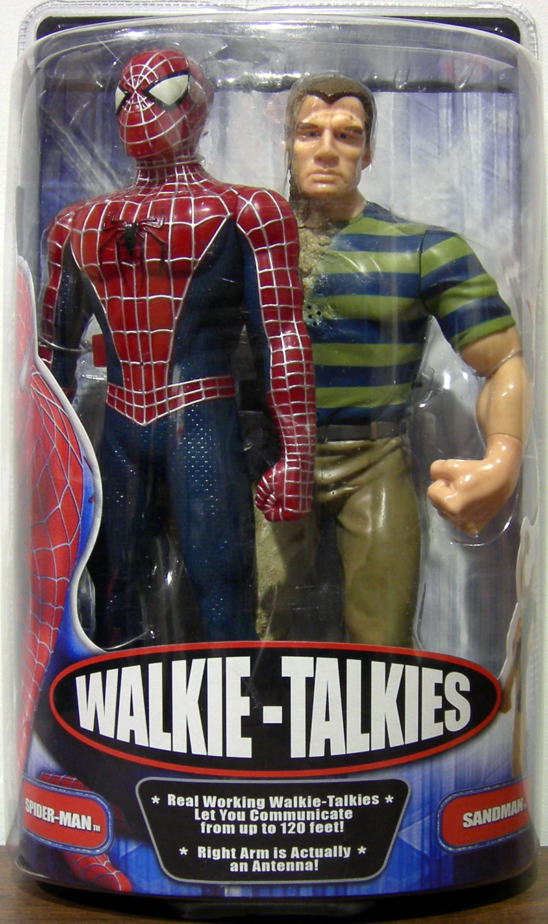 Spider-Man & Sandman Walkie-Talkies