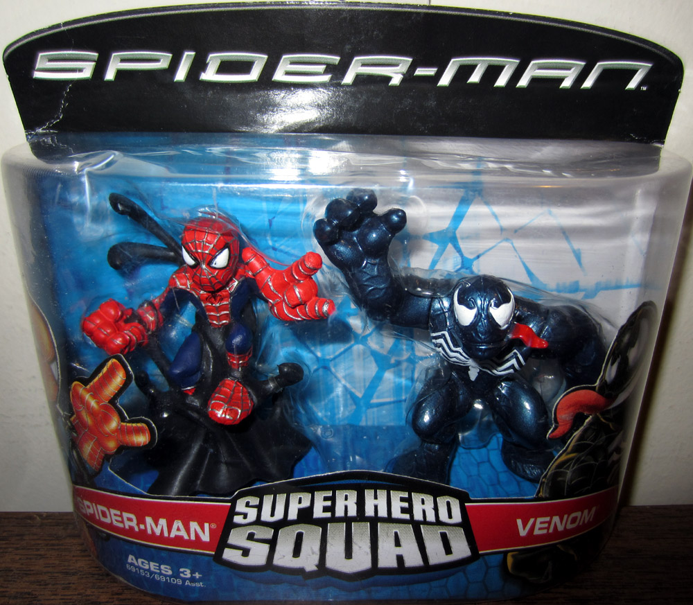 Spider-Man & Venom (Super Hero Squad)