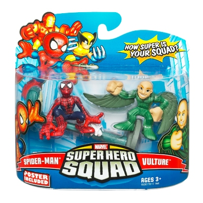 Spider-Man & Vulture (Super Hero Squad)