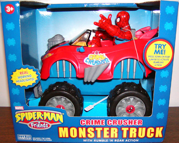 Spider-Man Crime Crusher Monster Truck