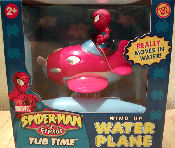Spider-Man Water Plane