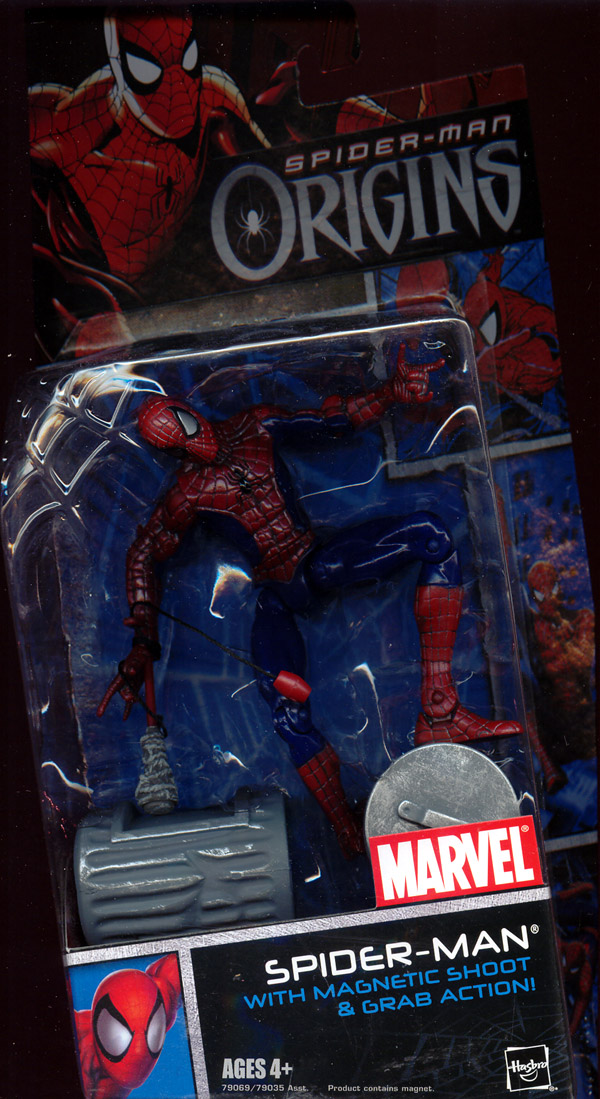 Spider-Man with magnetic shoot & grab action (Spider-Man Origins)