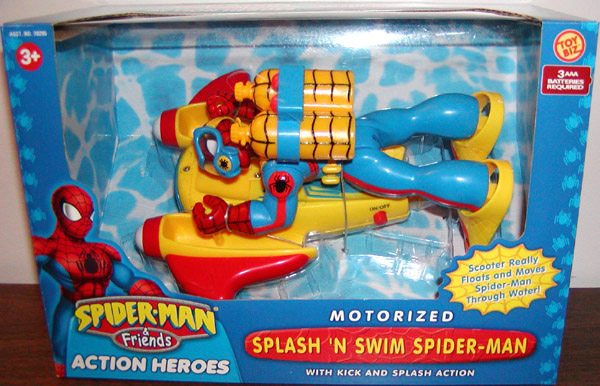 Splash N Swim Spider-Man