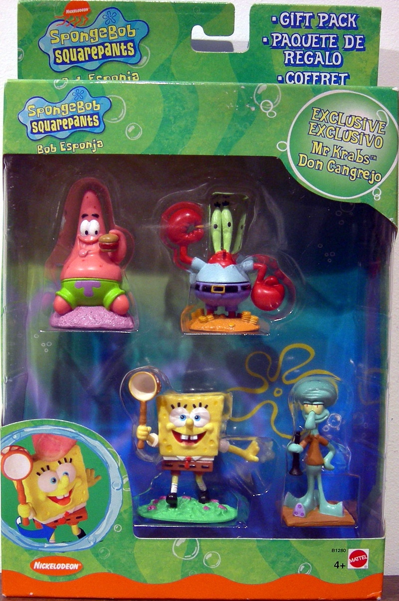 SpongeBob Squarepants 4-Pack