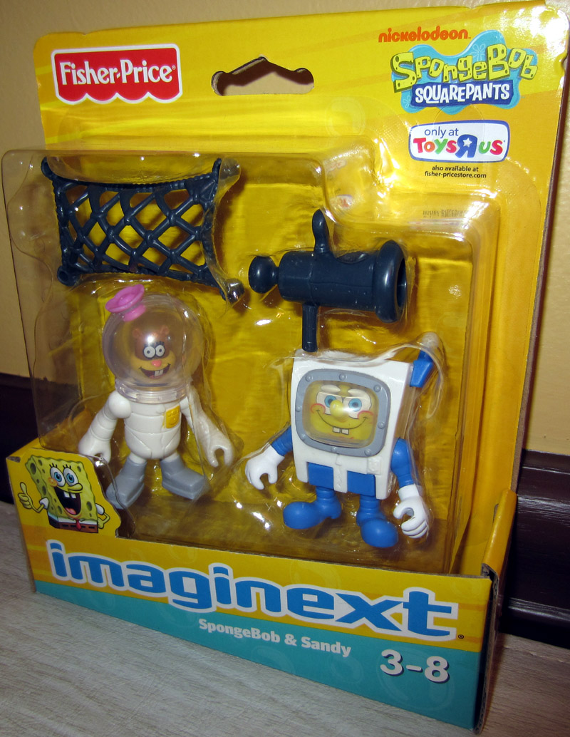SpongeBob & Sandy (Imaginext, Toys R Us Exclusive)