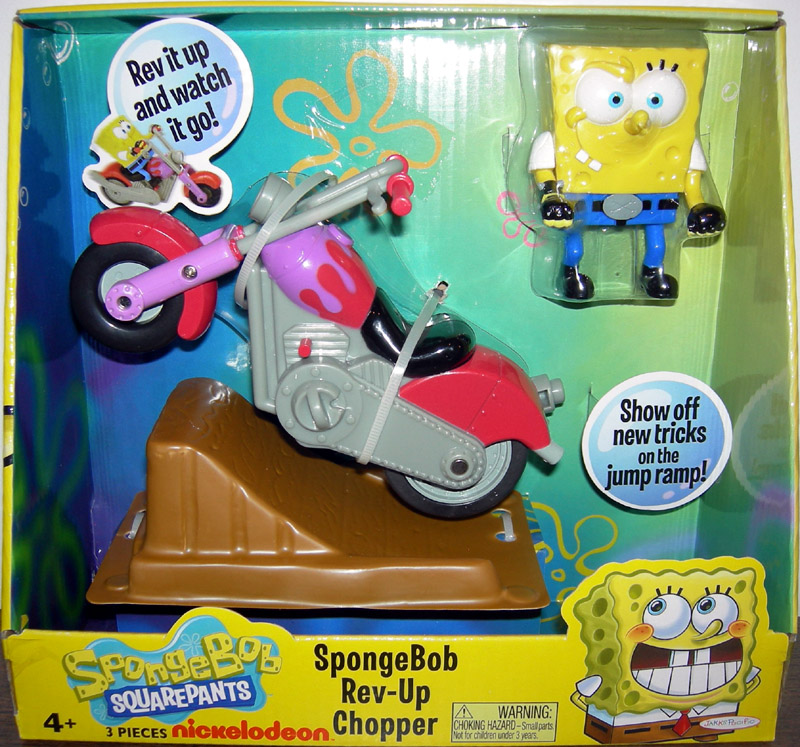 SpongeBob Rev-Up Chopper