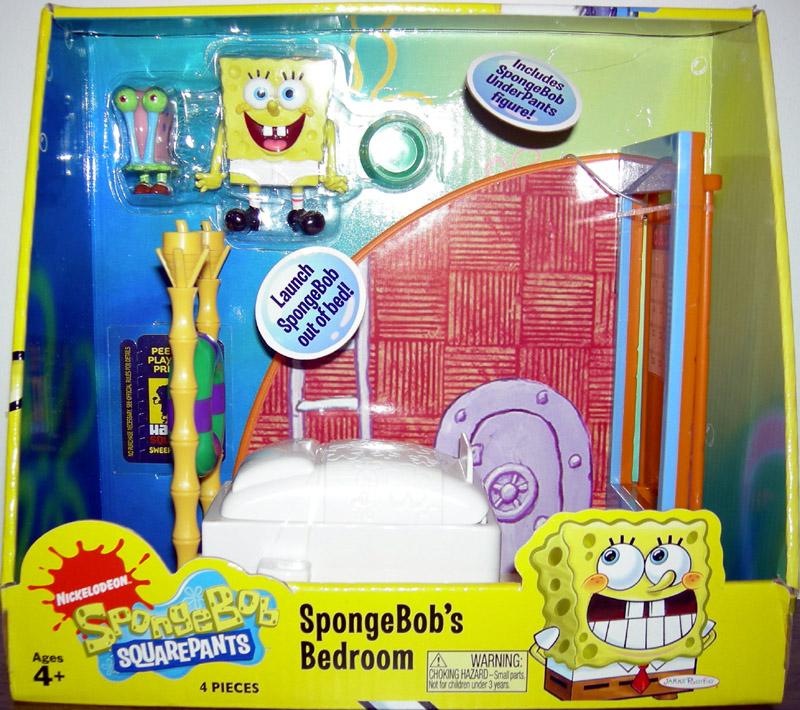 . SpongeBobs Squarepants Bedroom Playset