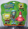 SpongeBob Figuriens (SpongeBob, Squidward Tentacles & Patrick Star 3-Pack)