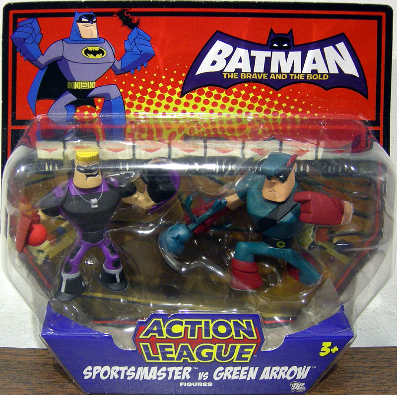 Sportsmaster vs. Green Arrow (Action League)