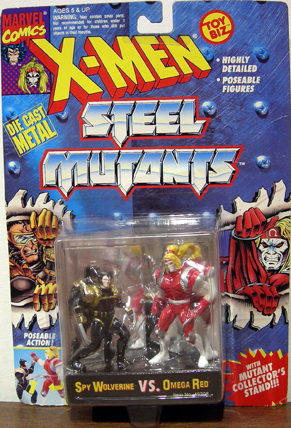 Spy Wolverine vs. Omega Red (Steel Mutants)