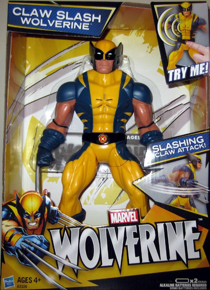 10 Inch Claw Slash Wolverine Movie action figure