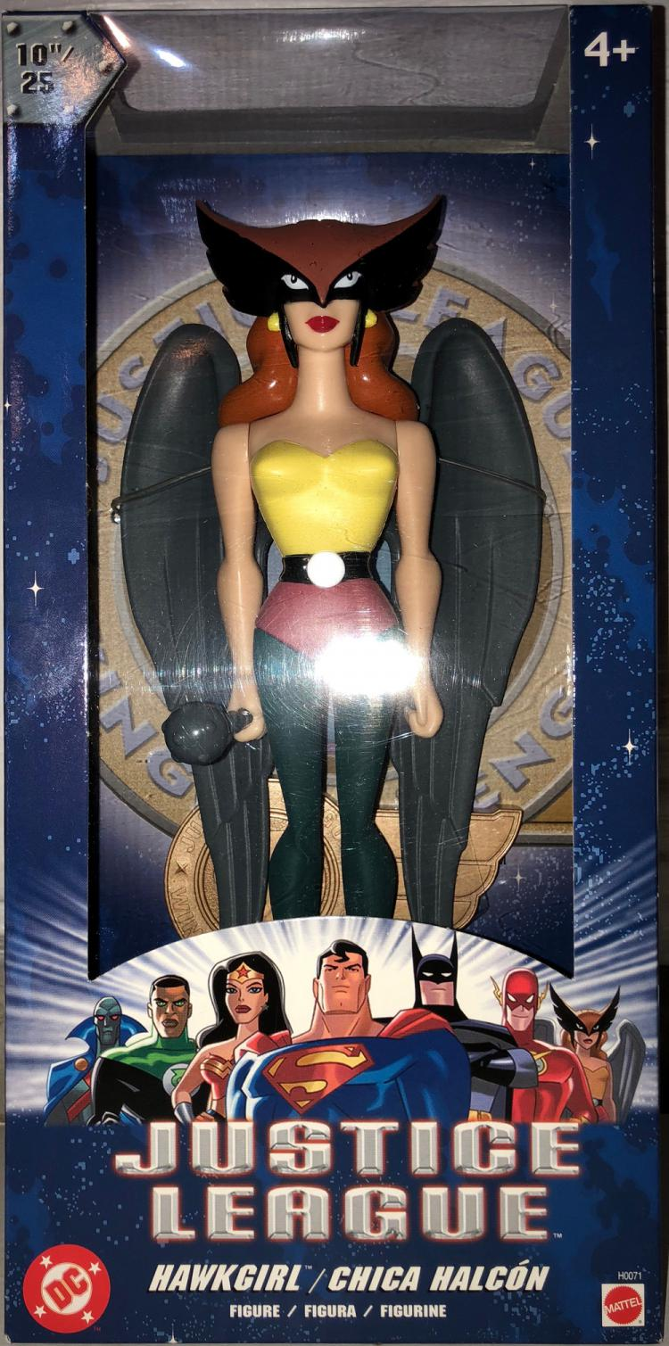 10 inch Hawkgirl Justice League Action Figure Mattel