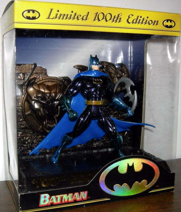 Limited 100th Edition Batman action figure
