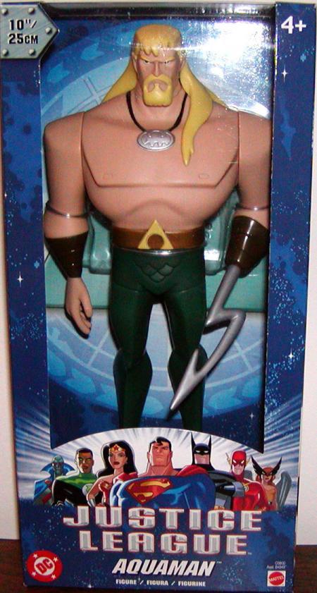 10 inch Aquaman Justice League Action Figure Mattel