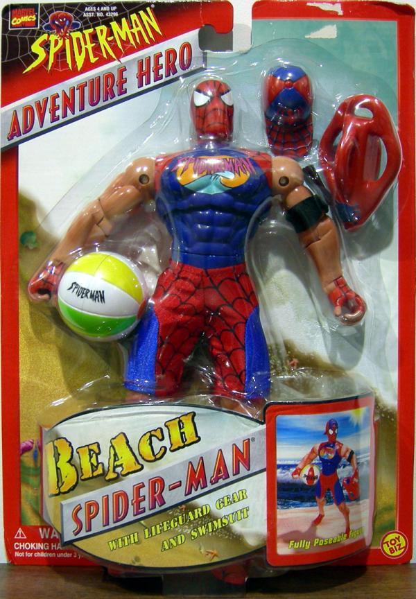 10 inch Beach Spider-Man