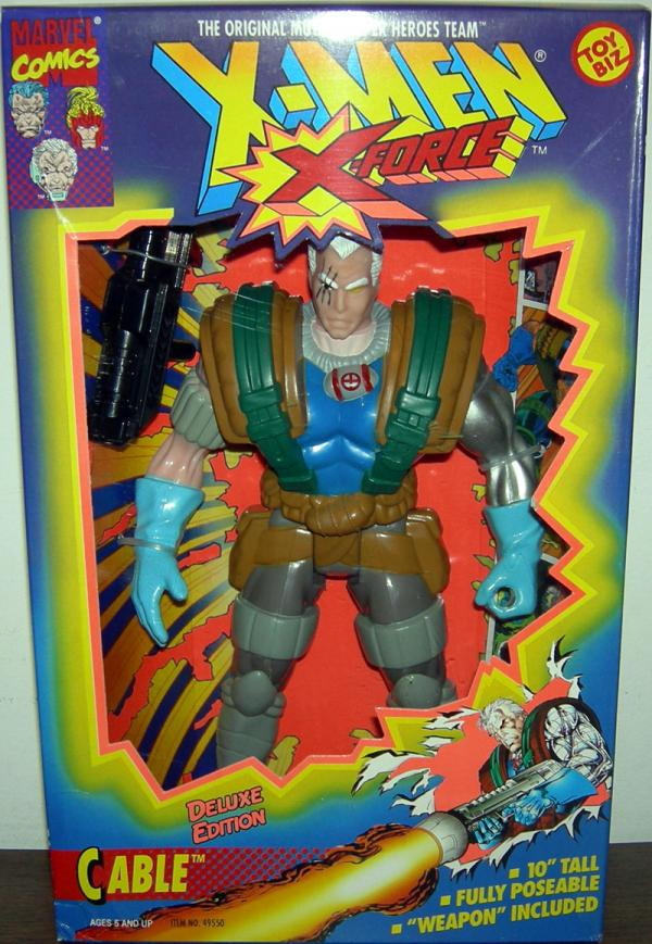 Cable X-Men X-Force Deluxe Edition action figure