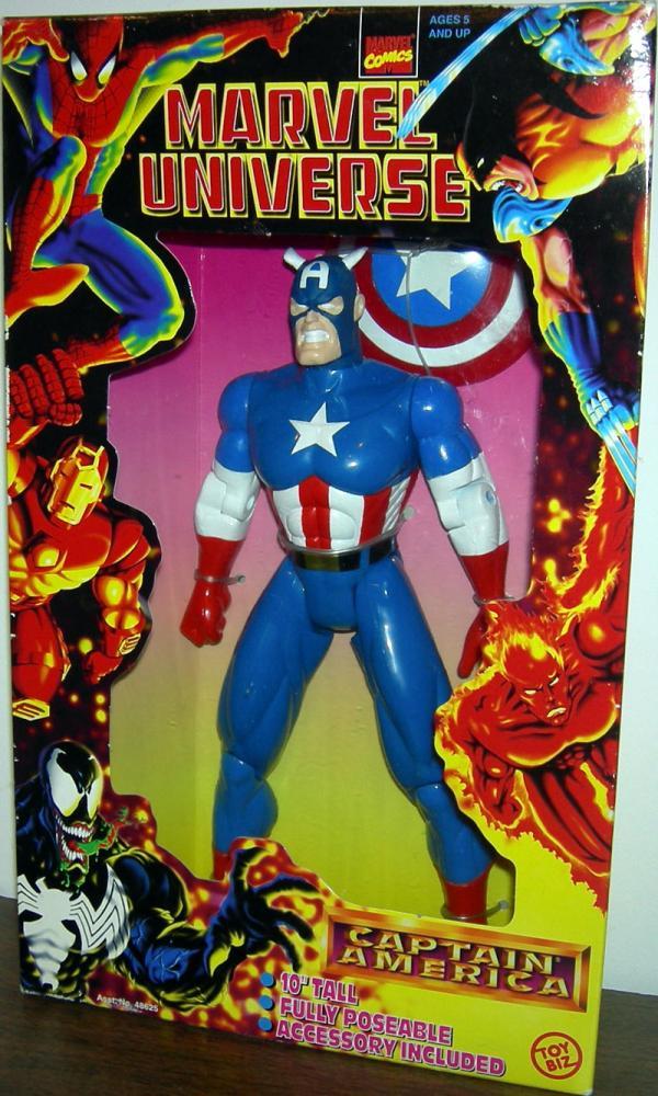 10 inch Captain America, Marvel Universe