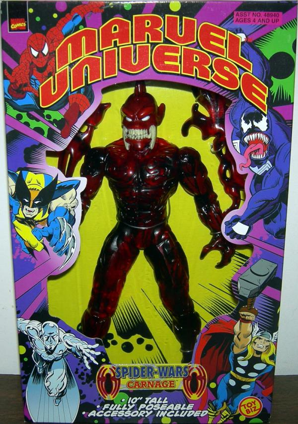 10 inch Spider-Wars Carnage, Marvel Universe