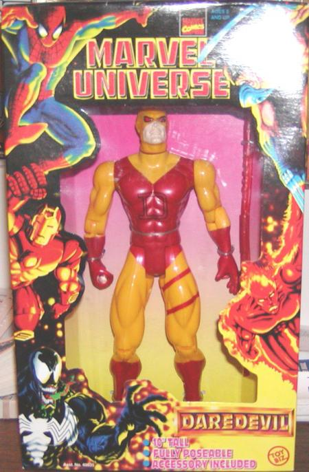 10 inch Daredevil, Marvel Universe, yellow, red