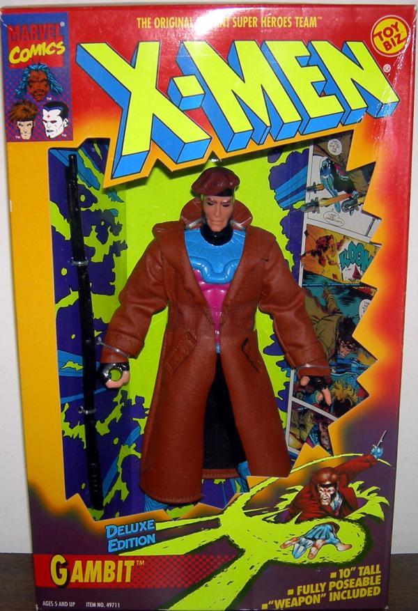 X-Men 10 inch Gambit action figure