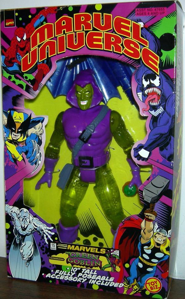 10 inch Green Goblin, Marvel Universe, transparent