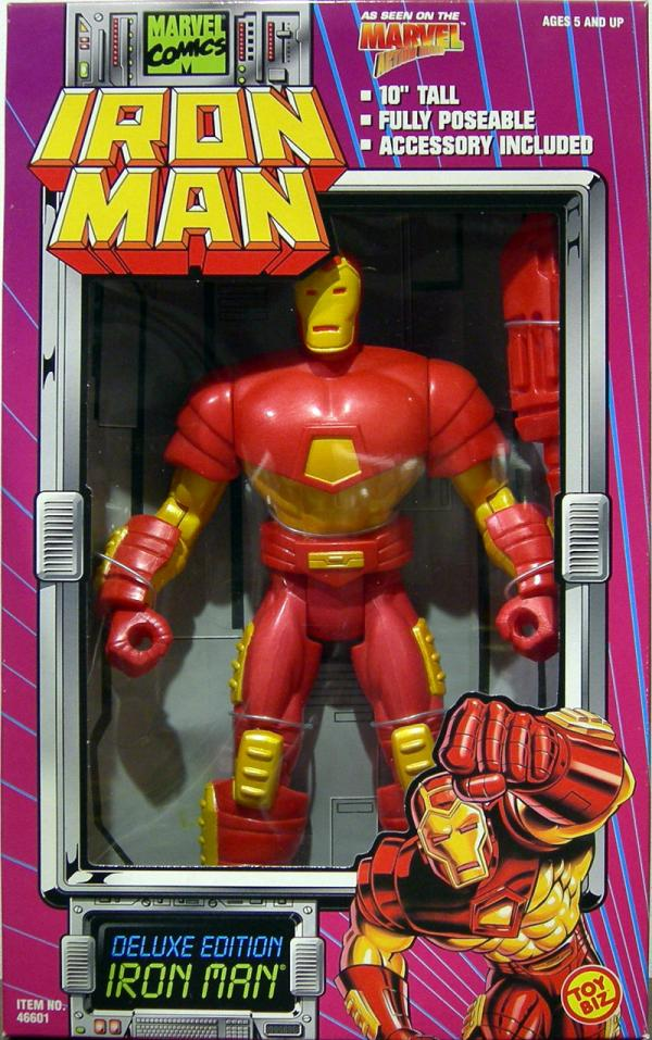 Iron Man Figure Animated Deluxe Edition 10 Inch Fully Poseable