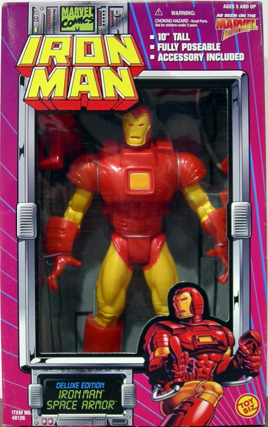 10 inch Iron Man (Space Armor)