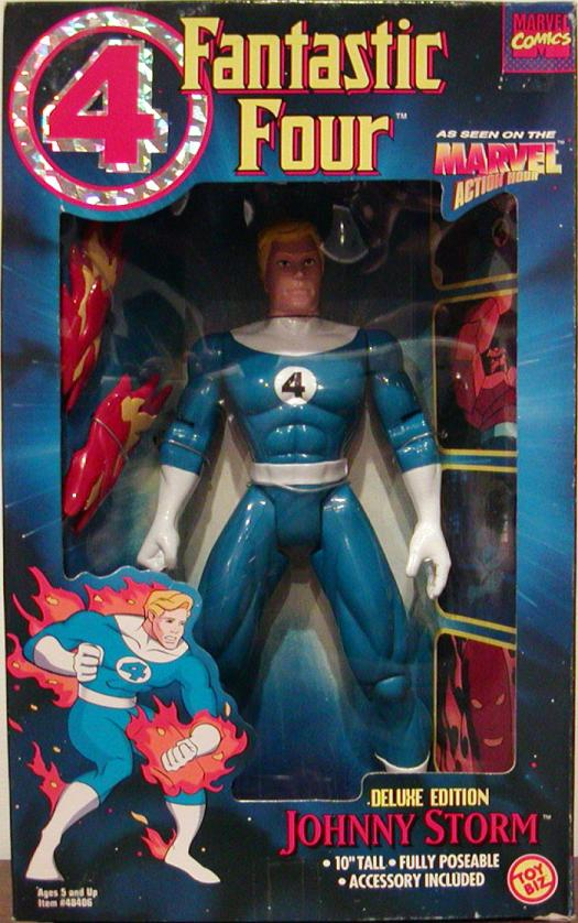 Johnny Storm 10 Inch Fantastic Four Animated action figure
