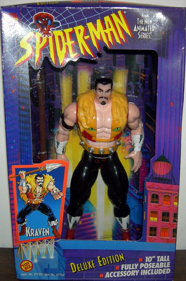 10 inch Kraven Spider-Man Animated action figuer